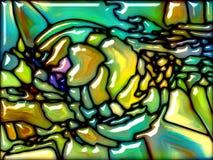 Sinergias do vidro Imagens de Stock