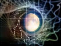 Sinergie della luna Immagine Stock