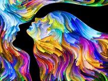 Sinergie di passione illustrazione vettoriale