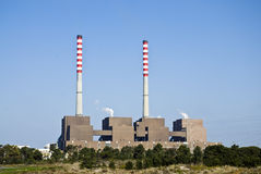Sines power plant. Royalty Free Stock Photography
