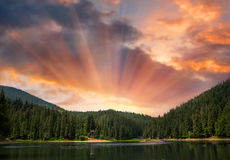 Sinevir Lake Stock Images