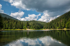 Sinevir lake Royalty Free Stock Image