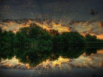 Sinfonía de la salida del sol Imagen de archivo libre de regalías