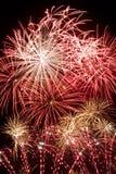 Sinfonia dei fuochi d'artificio Fotografia Stock