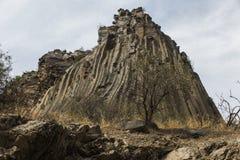 Sinfonia delle colonne del basalto di formazione rocciosa delle pietre vicino a Garni Immagine Stock Libera da Diritti