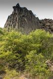 Sinfonia delle colonne del basalto di formazione rocciosa delle pietre vicino a Garni Immagini Stock Libere da Diritti