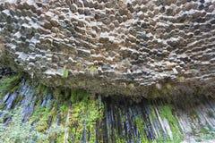 Sinfonia delle pietre vicino a Garni fotografie stock libere da diritti
