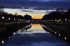 Sinfonia di tramonto Fotografie Stock Libere da Diritti
