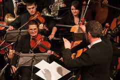 Sinfonieorchester Lizenzfreies Stockbild