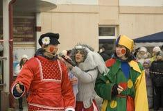 Sing a folk song Stock Photos