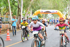 Sing Mountain Bike Thailand Open Race 2 Royalty Free Stock Images