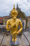 Sing from Wat Phra keaw Royalty Free Stock Photos