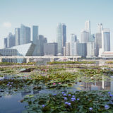 Singapor the `City in a Garden` Stock Photography