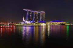 """SINGAPORE †""""9 December, 2017: De nieuwe Marina Bay Sands-toevlucht Royalty-vrije Stock Afbeeldingen"""