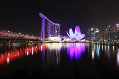 """SINGAPORE †""""9 December, 2017: De nieuwe Marina Bay Sands-toevlucht Royalty-vrije Stock Foto"""