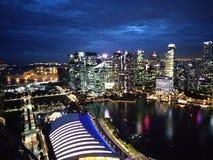 Singapore stock afbeelding