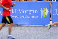 Singapore - 19 April 2012; J.P. Morgan Run Corporate Challenge Stock Photography