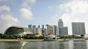 Singapore. Marina bay Sands a wonderful buildings of Singapore royalty free stock photography