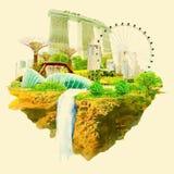 Singapore Vector Illustratie