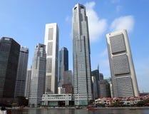 городской пейзаж singapore Стоковая Фотография