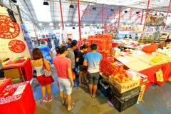 Singapore: Acquisto lunare cinese del nuovo anno Fotografie Stock