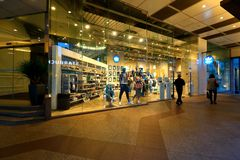 Singapore: Adidas sports retail boutique outlet Stock Image