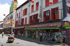 La Chinatown di Singapore Fotografia Stock