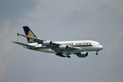 Singapore Airlines imagem de stock royalty free