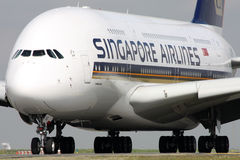 Singapore Airlines Foto de Stock Royalty Free