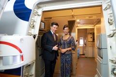 Singapore Airlines Foto de archivo