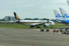Singapore Airlines Airbus A350 Fotografia de Stock