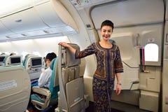 Singapore Airlines-Bemanning royalty-vrije stock fotografie