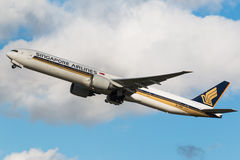 Singapore Airlines Royalty Free Stock Photos