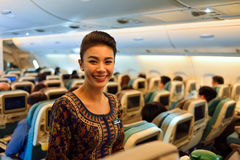 Singapore Airlines crew Stock Images