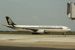 Singapore Airlines Royalty Free Stock Images