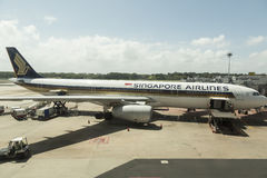 Singapore Airlines Royalty Free Stock Photo
