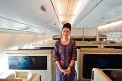 Singapore Airlines załoga Obraz Stock