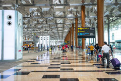 Singapore Airport Royalty Free Stock Images
