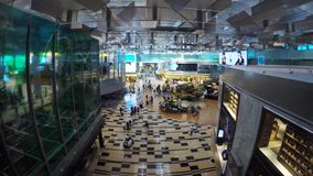 Singapore Airport stock video