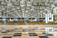 Singapore Airport Royalty Free Stock Photo