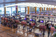 Singapore Airport Royalty Free Stock Image