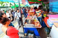 Singapore: Alimento della via Immagini Stock
