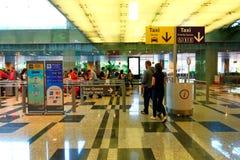 Singapore: Andare a casa Fotografia Stock Libera da Diritti