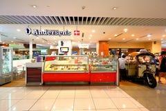 Singapore : Anderson's Ice cream store Stock Photo