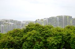 Singapore Apartments Royalty Free Stock Photography