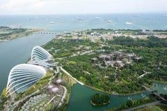 Singapore arbeta i trädgården vid fjärden parkerar Royaltyfri Fotografi