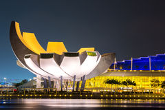 Singapore Art Science Museum Royaltyfria Foton
