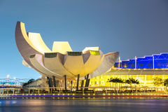 Singapore Art Science Museum Royalty Free Stock Photography
