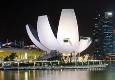 Singapore Art Science Museum Royalty Free Stock Images