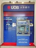 Singapore: ATM Royaltyfria Bilder
